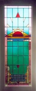 Glas-in-lood badkamer