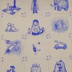 o.a. de knuffels, schaakspel, geliefde Mickey-rugzak, mamoet en Matruschka