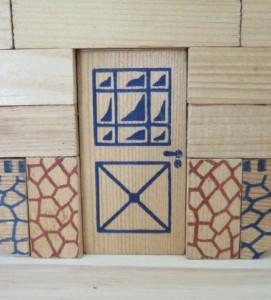 blokjes natuurlijke materialen