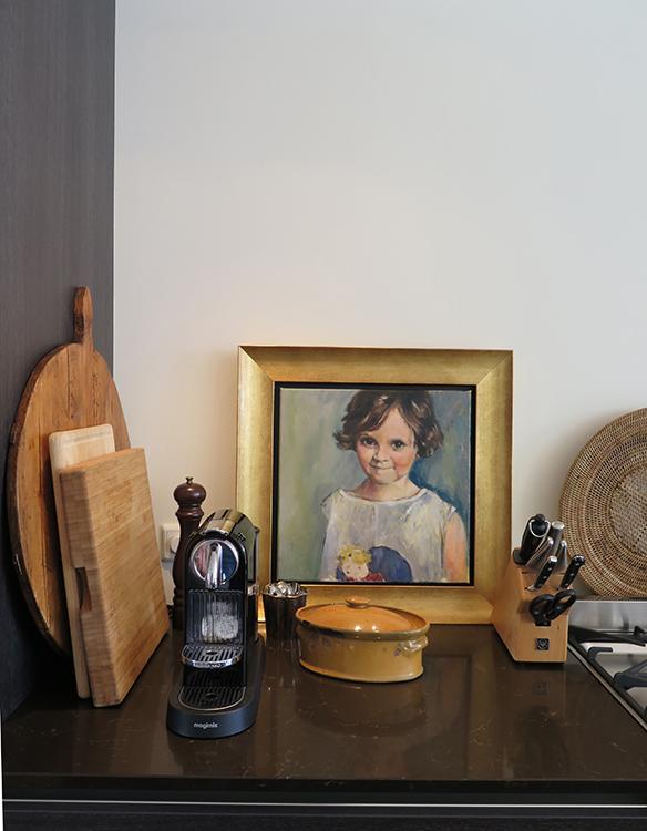 kunst in de keuken